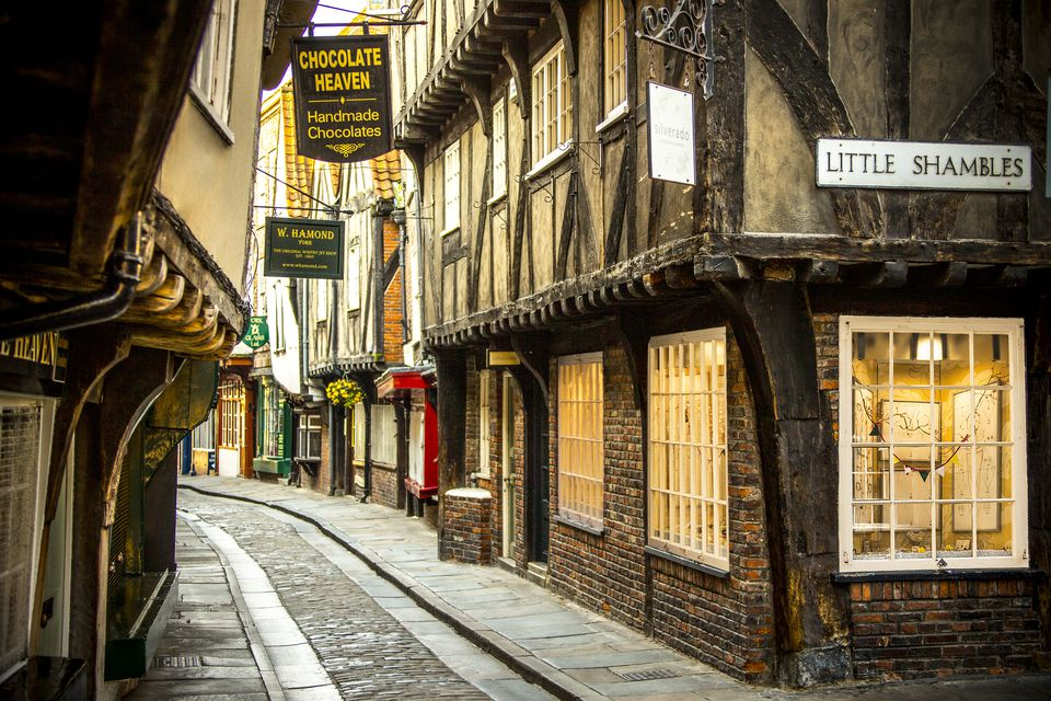 The Shambles in York.