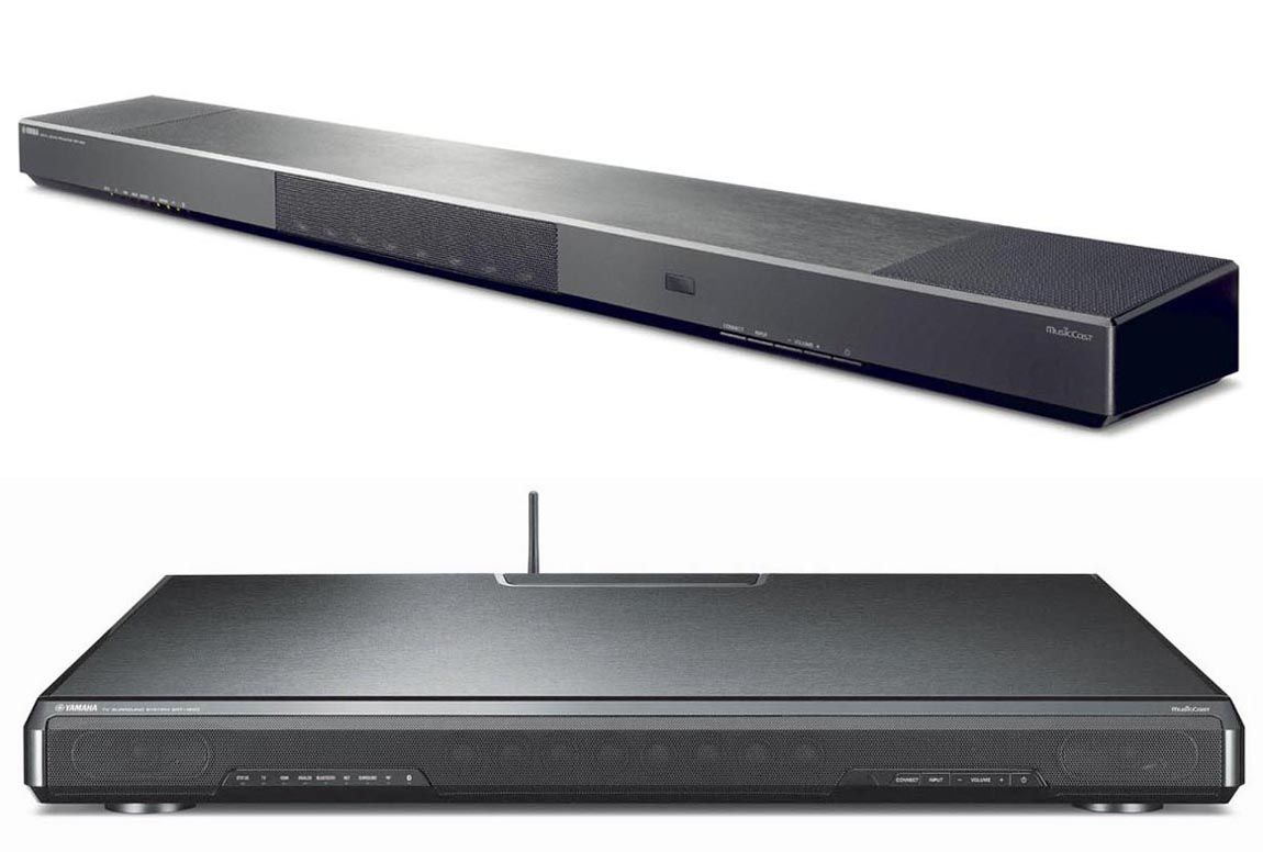 yamaha adds sound bar and under tv audio system. Black Bedroom Furniture Sets. Home Design Ideas