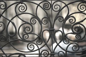 Ornate metalwork