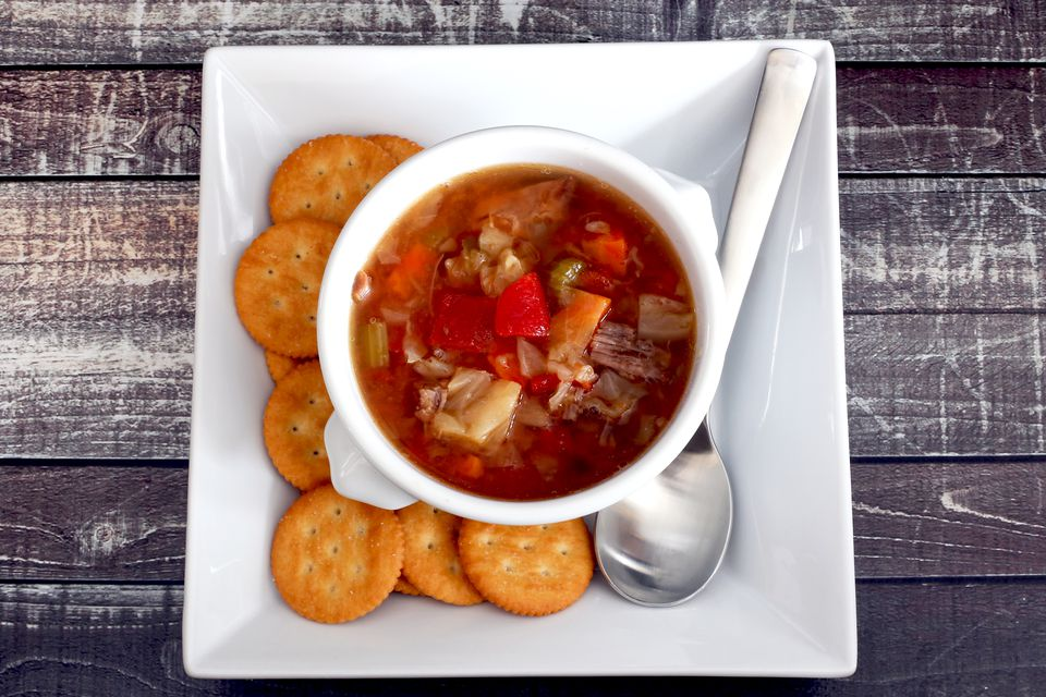 cabbage soup with beef