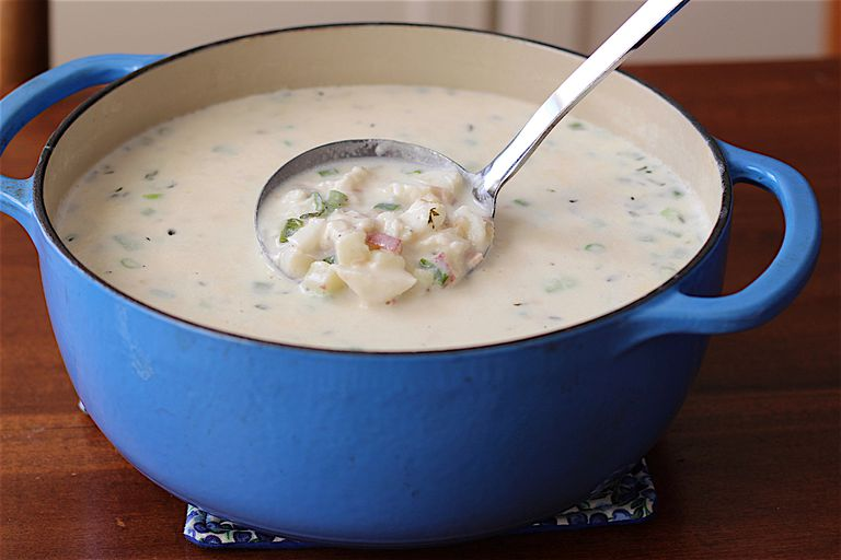 Low fodmap fish chowder recipe for Fish chowder recipe