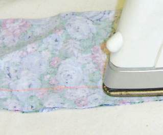 Step 1 -- Pressing open a seam