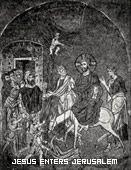 Jesus Enters Jerusalem, Turkish Mosaic