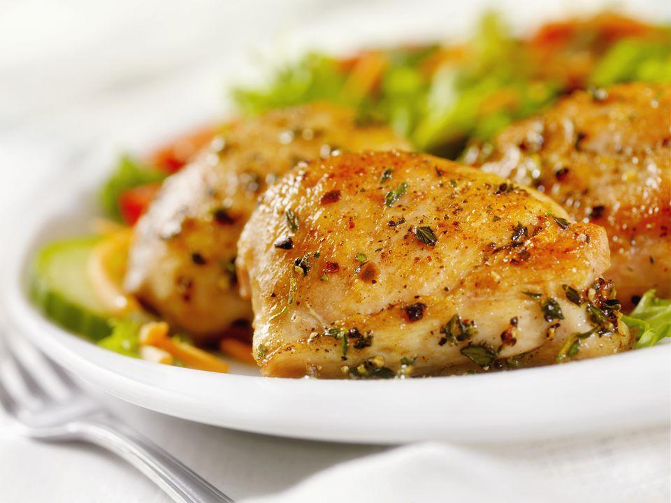 Marinated Boneless Chicken Thighs (Pargiot) Recipe