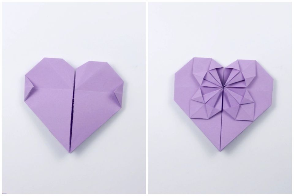 how to make an origami coin