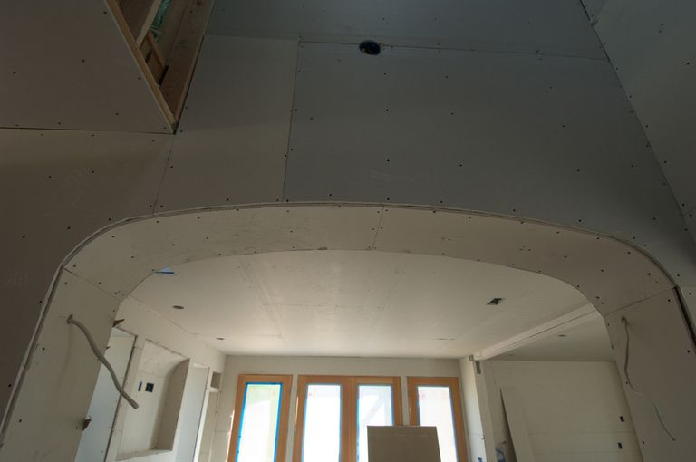 Curved Drywall