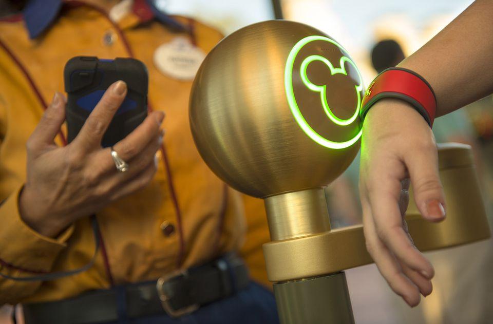 MagicBand at Disney World