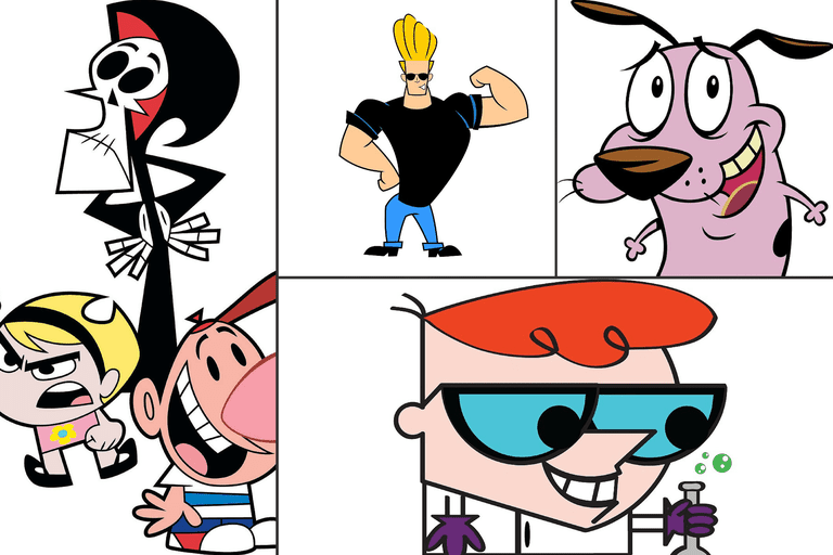 Classic Cartoon Network Shows