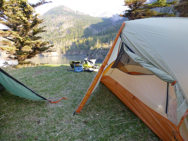 Big Agnes Copper Spur tent and vestibule
