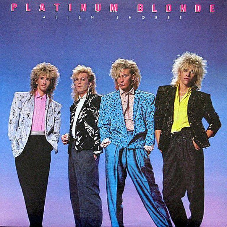 Canadian rock band Platinum Blonde released full-length LP 'Alien Shores' in 1984.