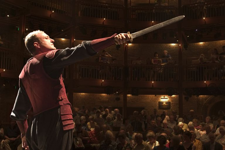 Man Performing Shakespeare