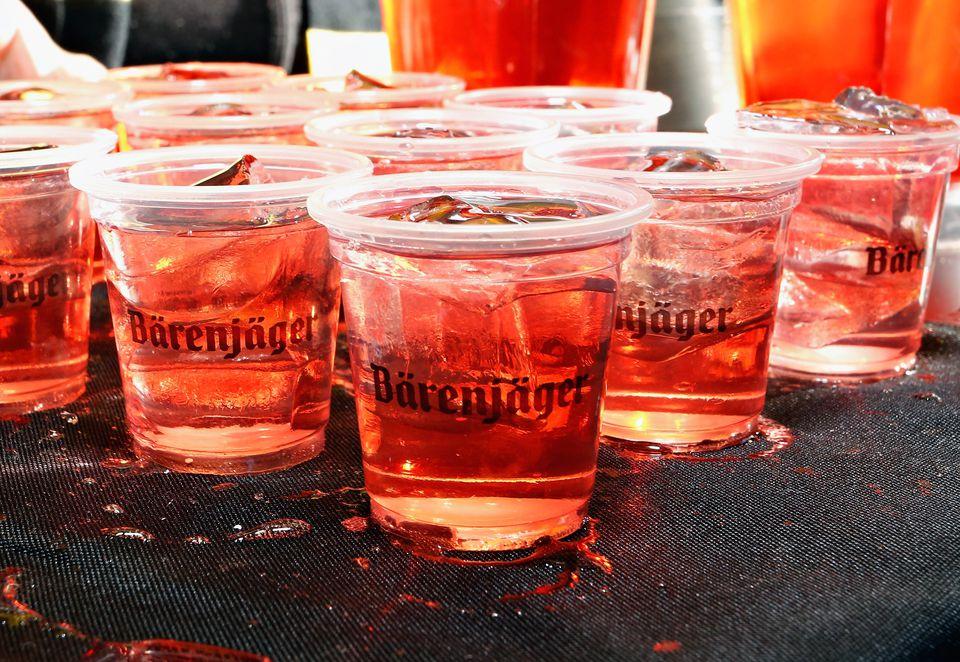 Barenjager liqueur cocktail