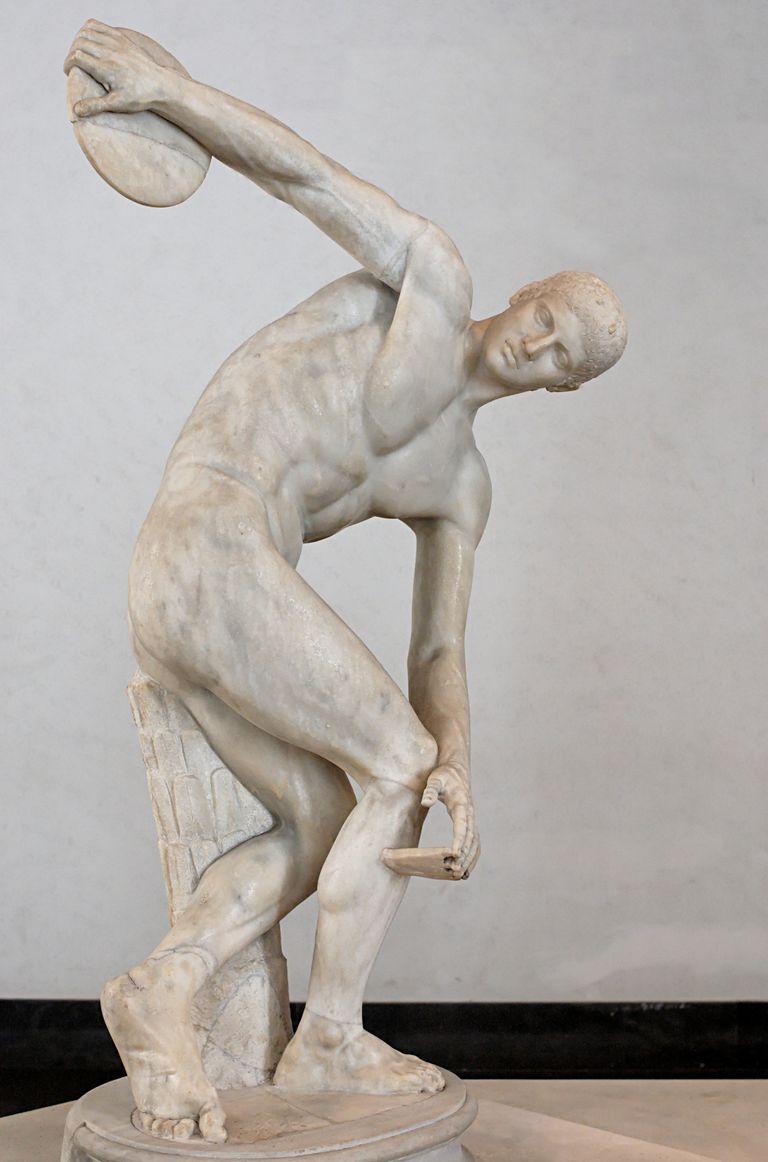 Escultura de Discóbolo