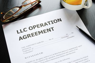 operating agreement between two companies