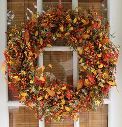 Berry Fall SIlk Wreath
