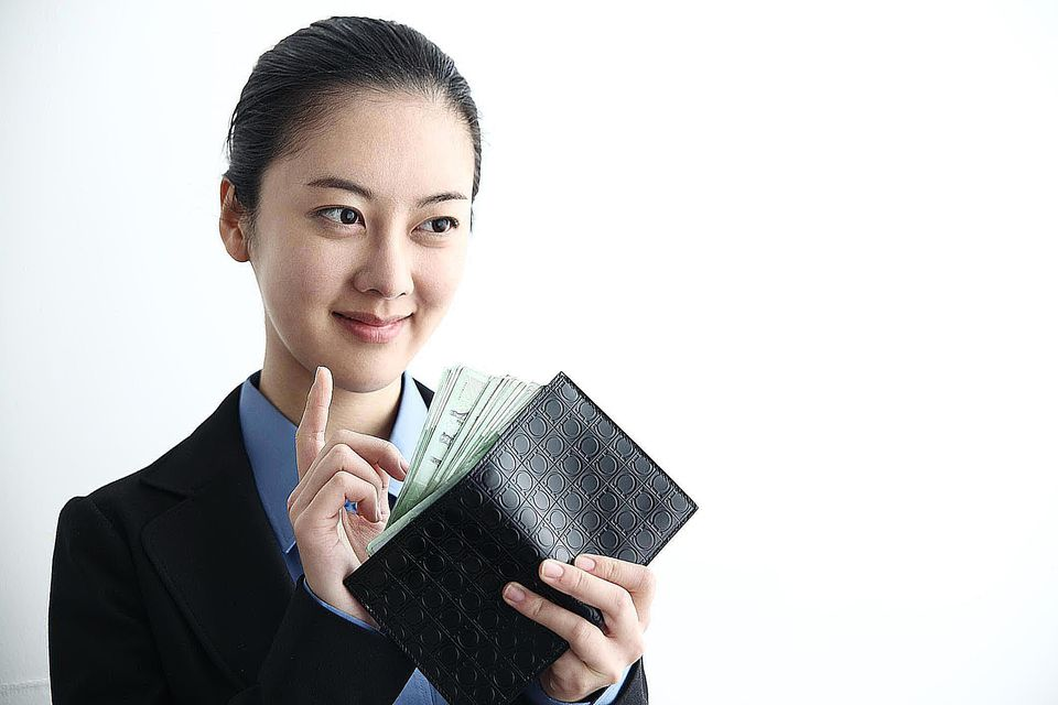 Business woman of asian