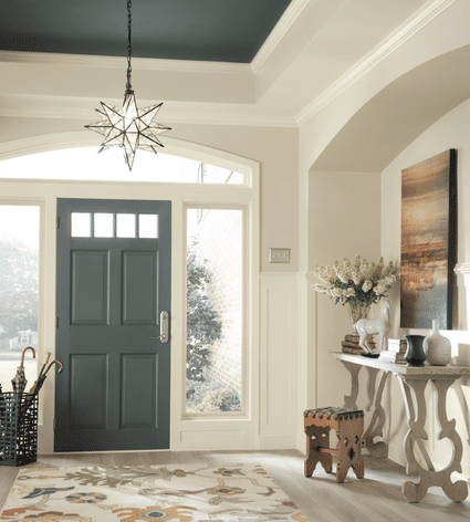 See rooms featuring sherwin williams 39 alabaster for Rustic paint colors from sherwin williams