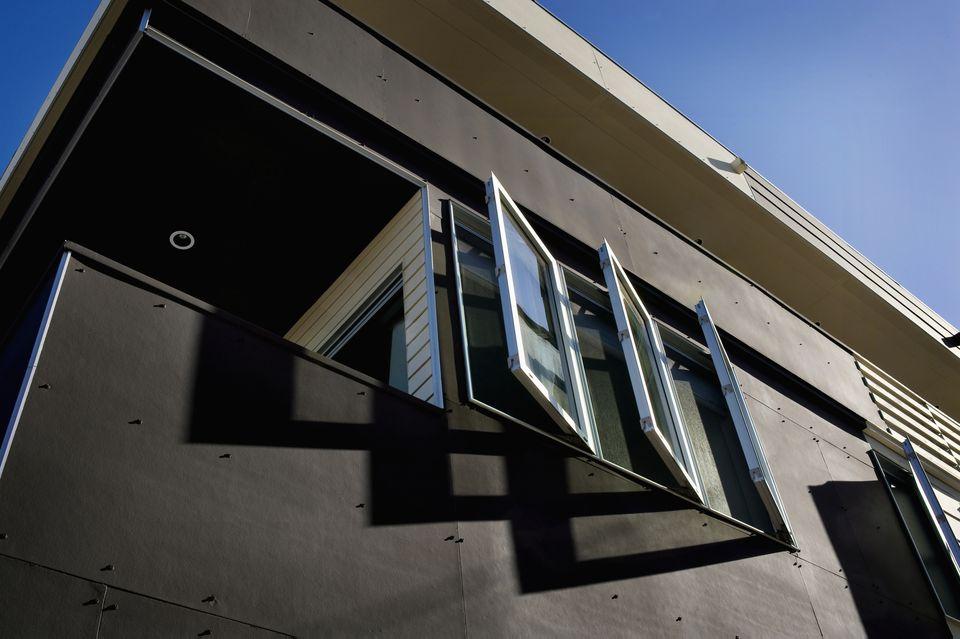 Open Casement Windows on House 482184921