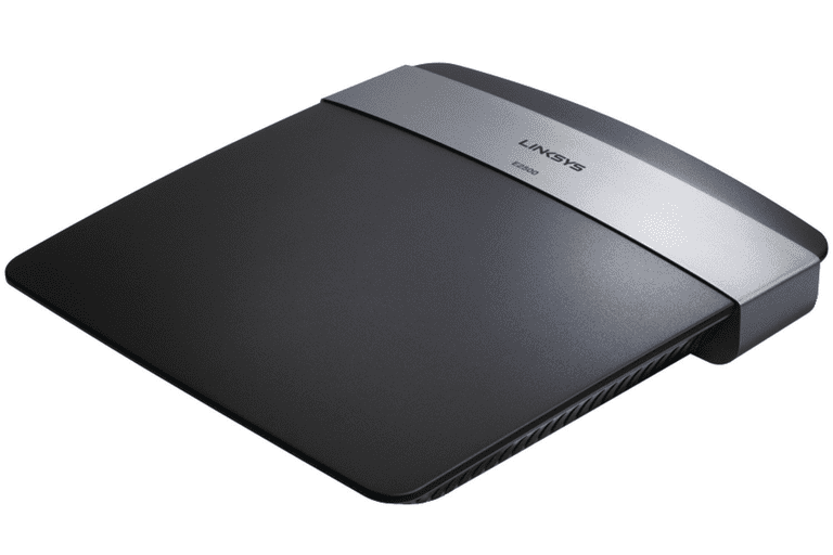Screenshot of a Linksys E2500 Router