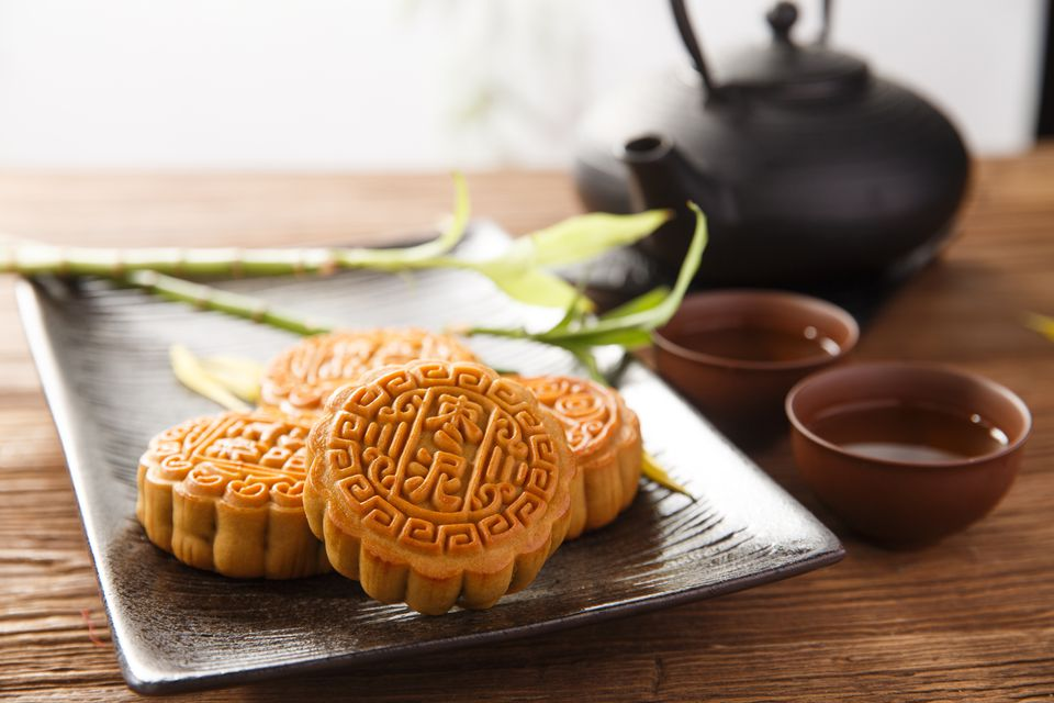 Traditional Chinese mooncake