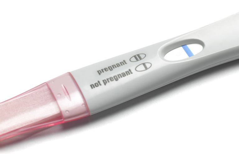 Pregnancy test not pregnant
