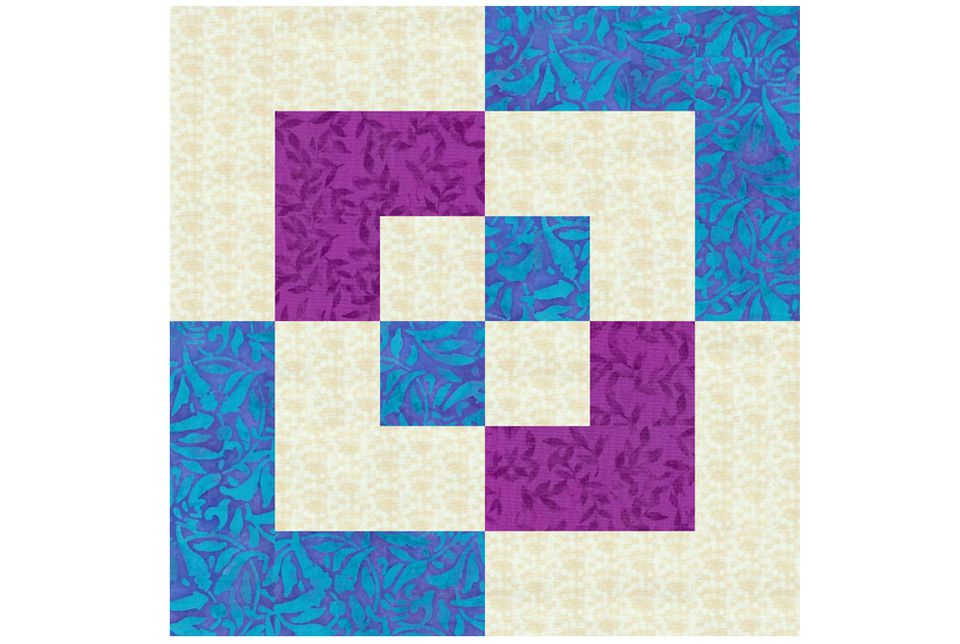 Easy 12 Quot Bento Box Quilt Block Pattern