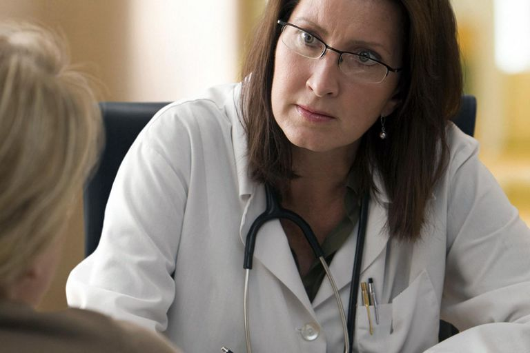Female doctor with patient New Jersey
