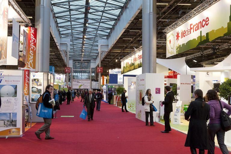 France, Paris region, Villepinte, Pollutec-Horizon environmental fair