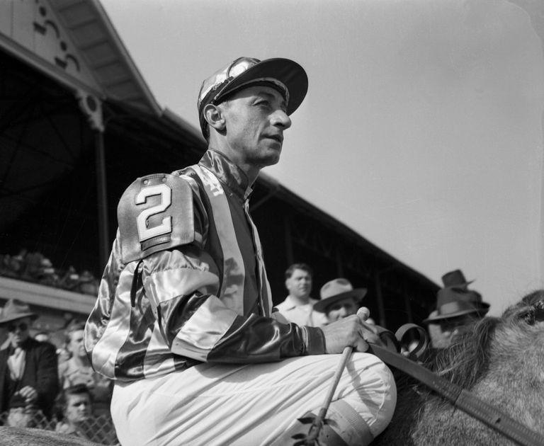 Eddie Arcaro Atop Horse