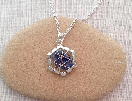 Wrap a stone shell or beach glass into a pendant wrap a polished stone to a pre made frame mozeypictures Gallery