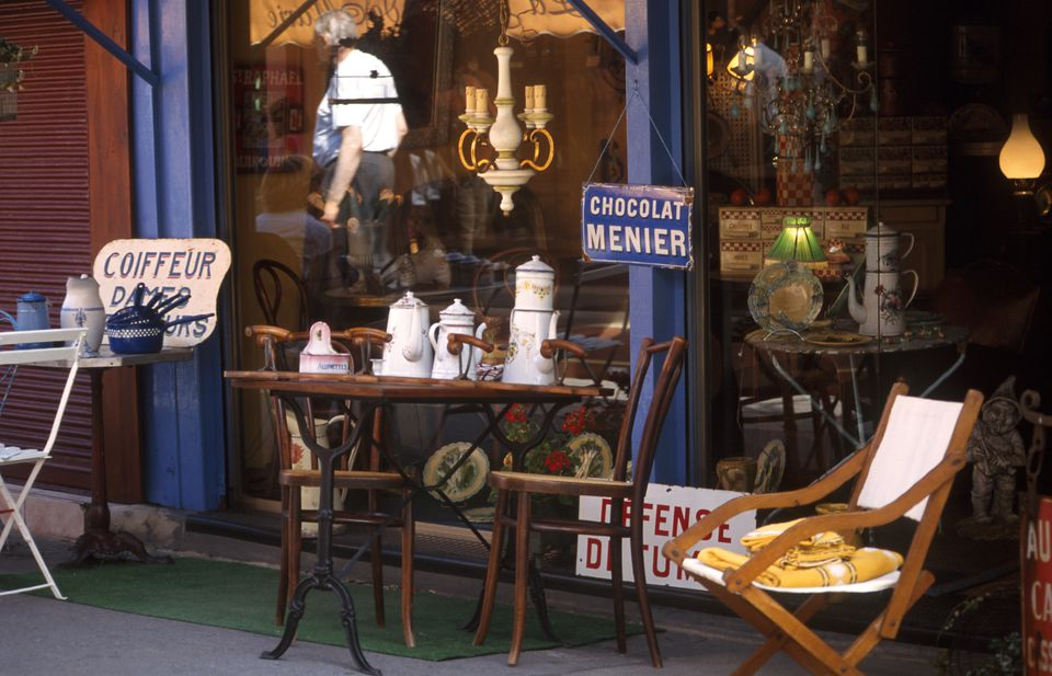 Puces De St-Ouen Paris flea market
