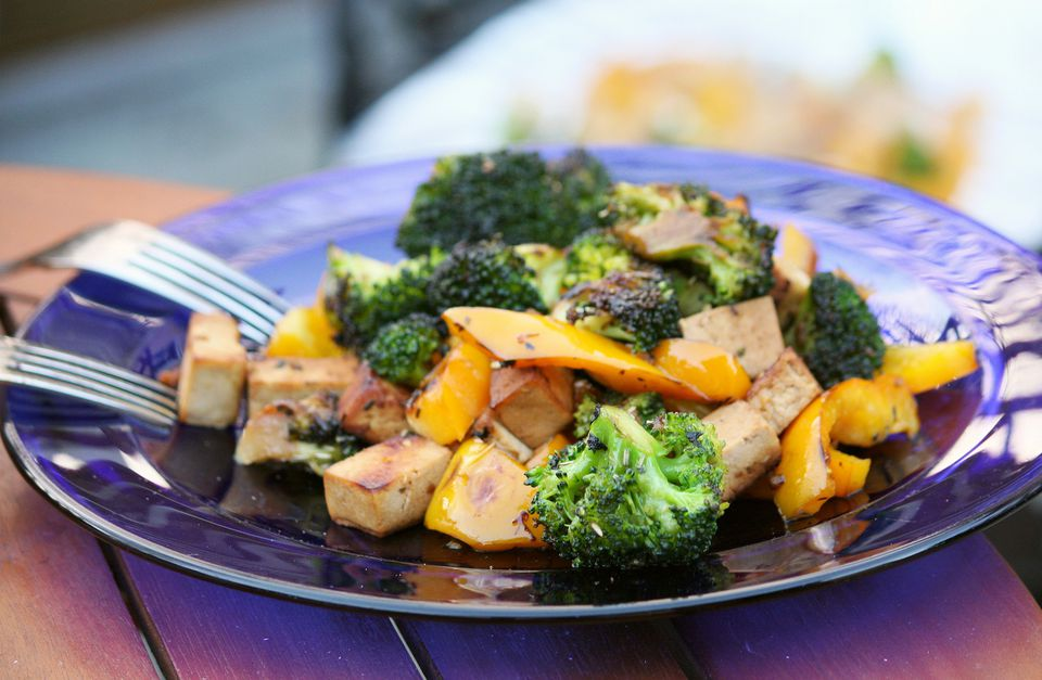 Braised Tofu with Vegetables