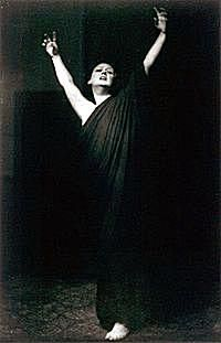 Isadora DUncan, madre de la danza moderna.