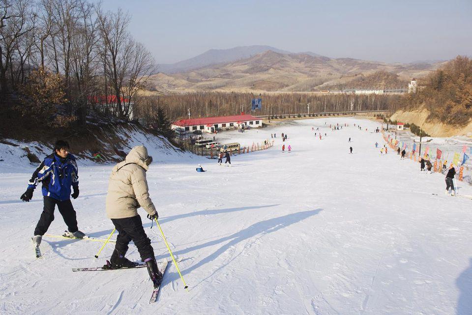 Yabuli ski resort, Heilongjiang Province, Northeast China, China, Asia