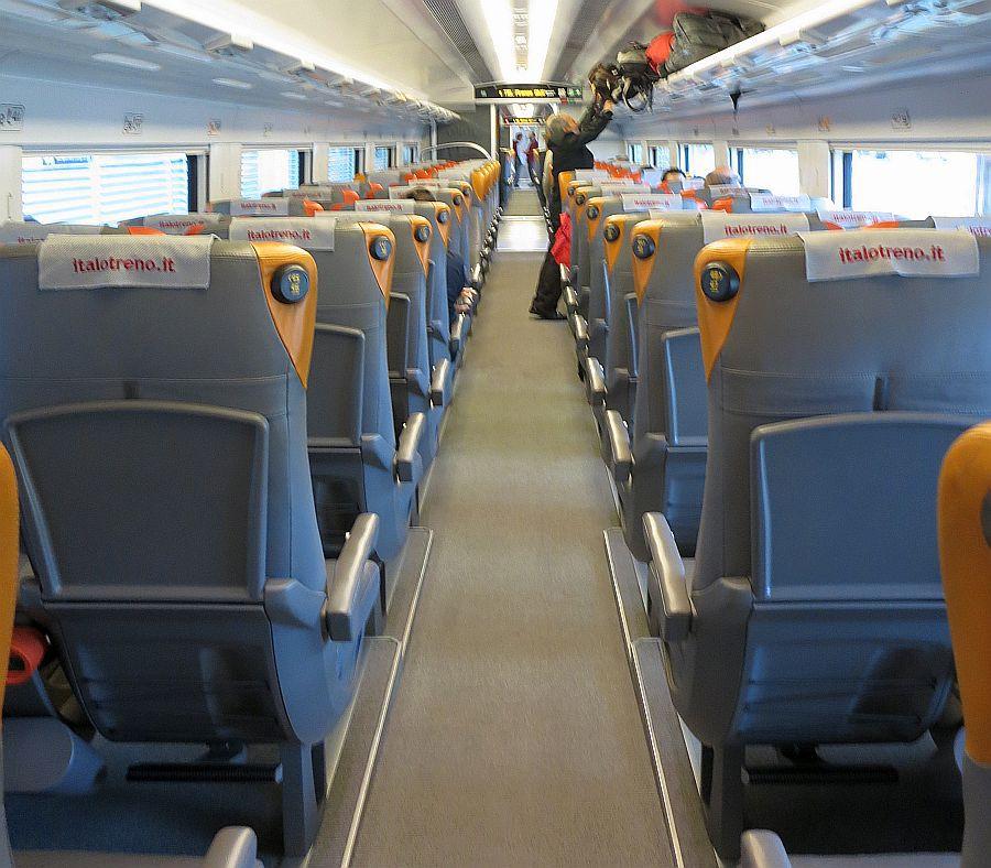 Italo train interior