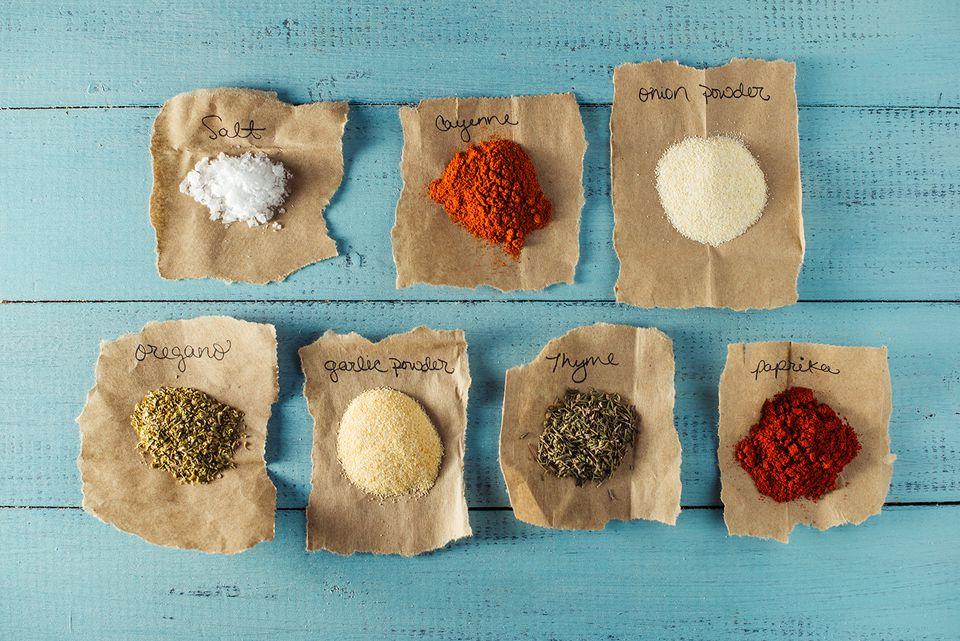 Carjun Turkey Seasoning ingredients
