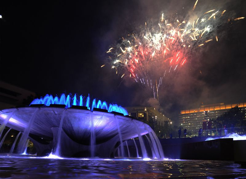 Grand Park Fireworks