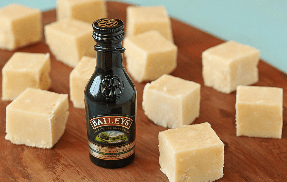 Bailey's irish cream fudge.