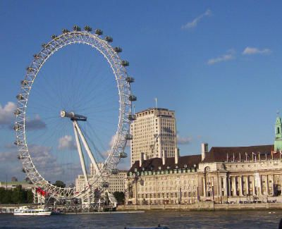 London Eye - from river. Photo © Teresa Plowright.
