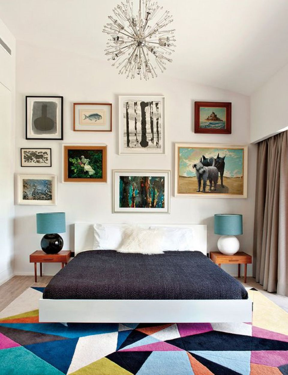 wood a tile floors mid bedroom brepurposed under boho look century with in modern nightstands