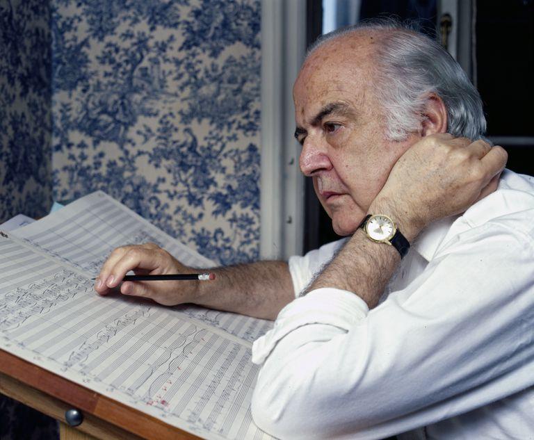 Composer Samuel Barber