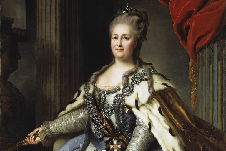 Catherine the Great of Russia portrait
