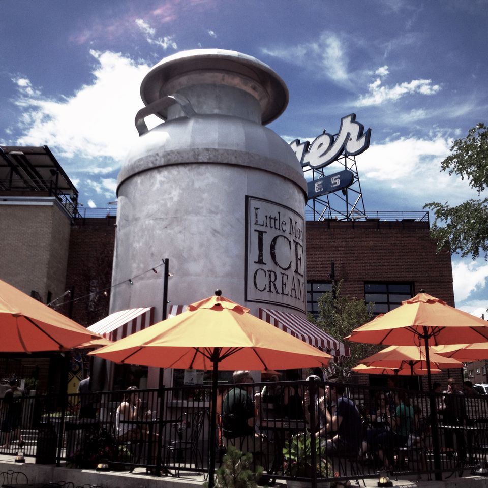Little Man Ice Cream in Denver's Highlands neighborhood.