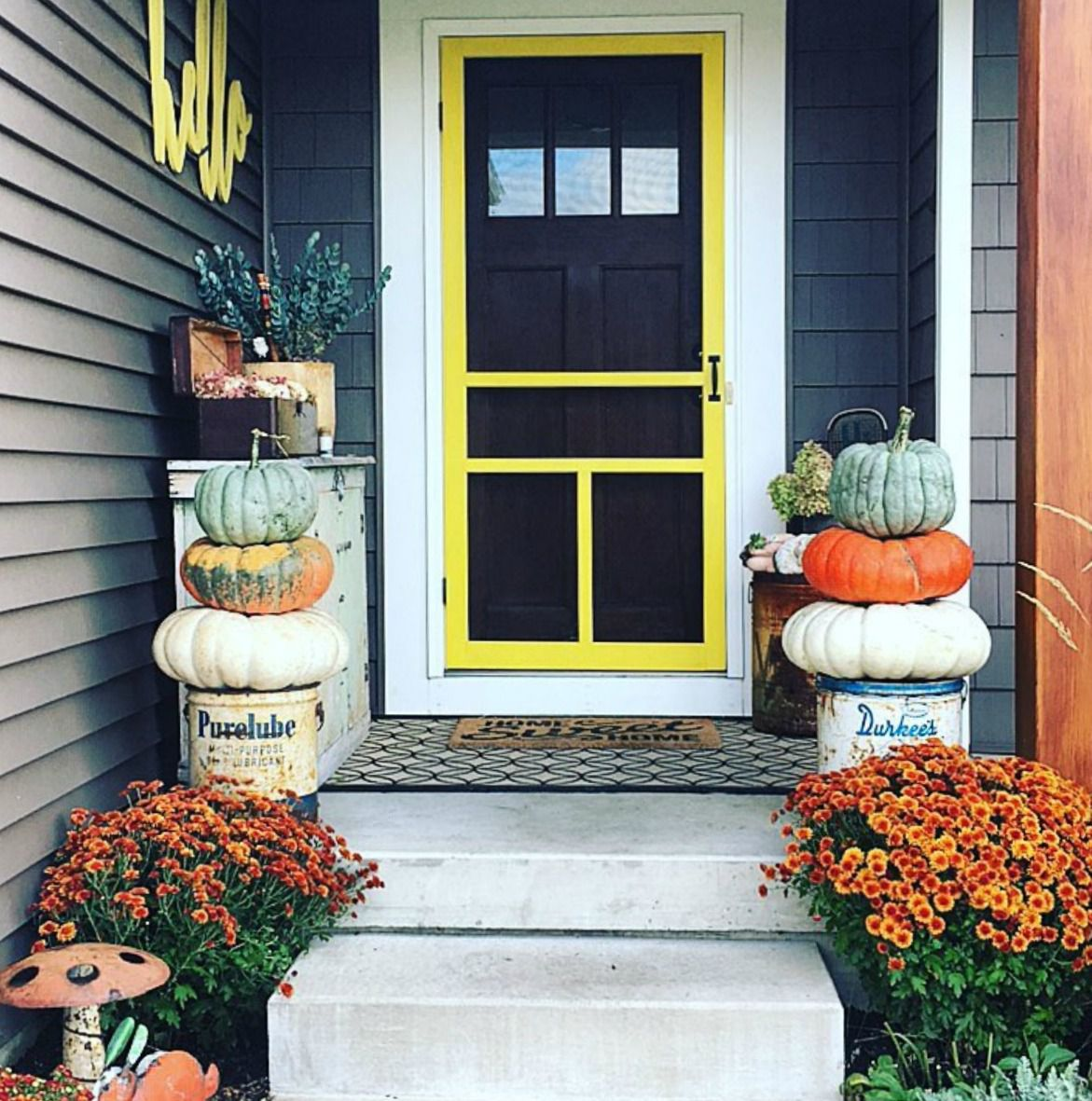 Colorful Decorating Ideas: Decorating Ideas For Fall Yards