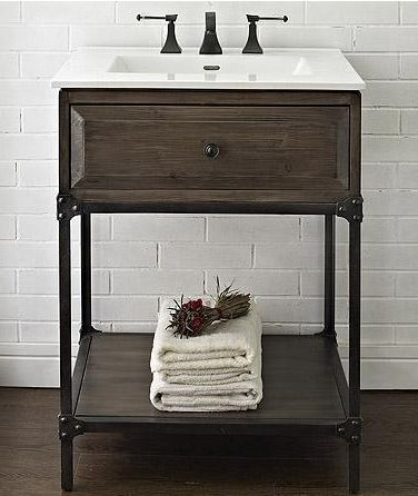 9 scaled down vanities for small baths - Bathroom vanities for small bathrooms ...