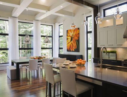 Is Hardwood Flooring Right for Your Kitchen. Long Lasting Durable Kitchen Flooring Choices