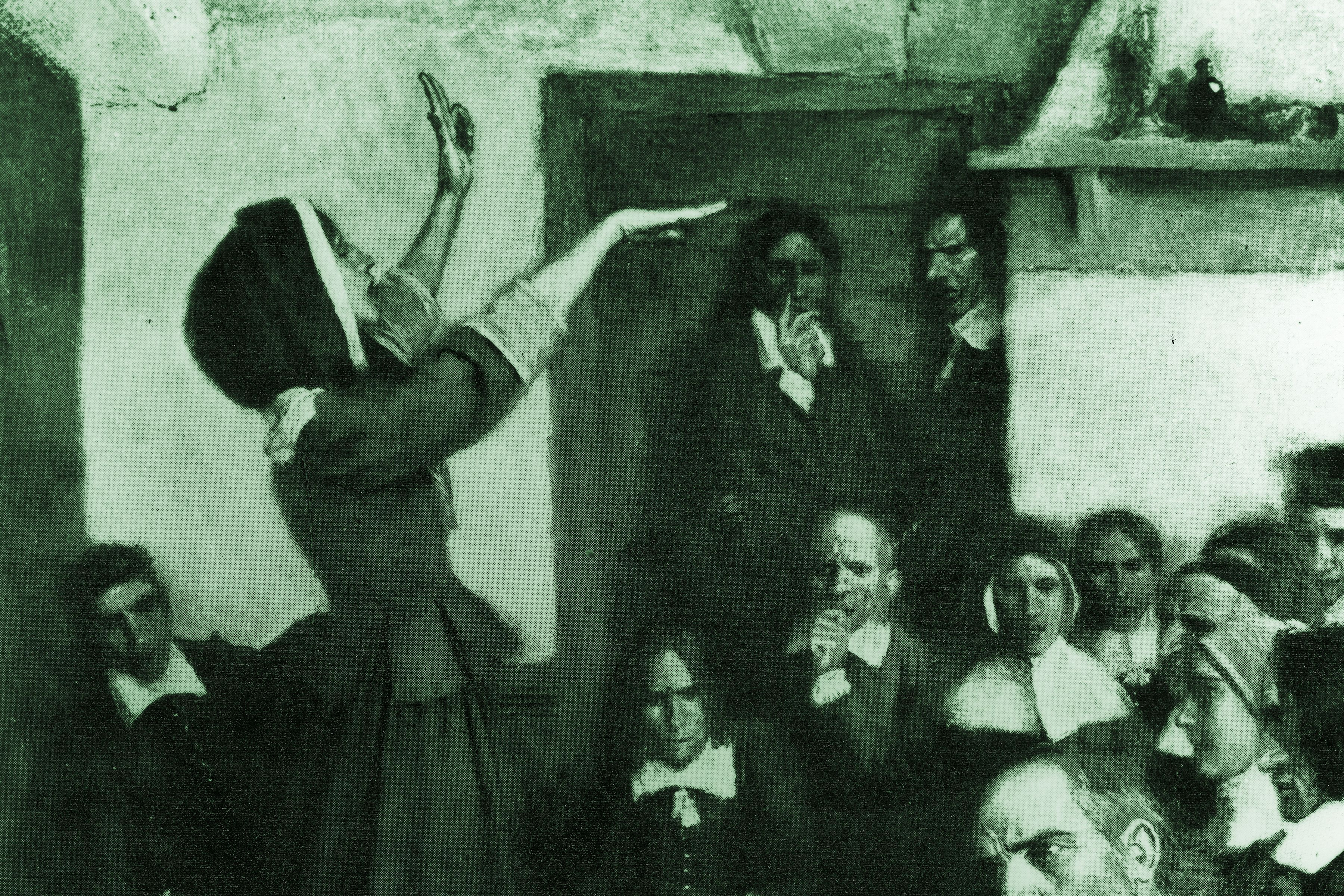 anne hutchinson early american religious dissident anne hutchinson preaching