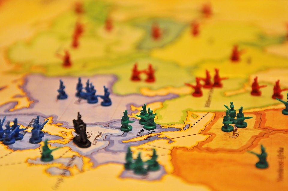 Board game of Risk