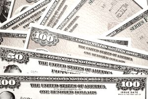 United States savings bonds of varying amounts