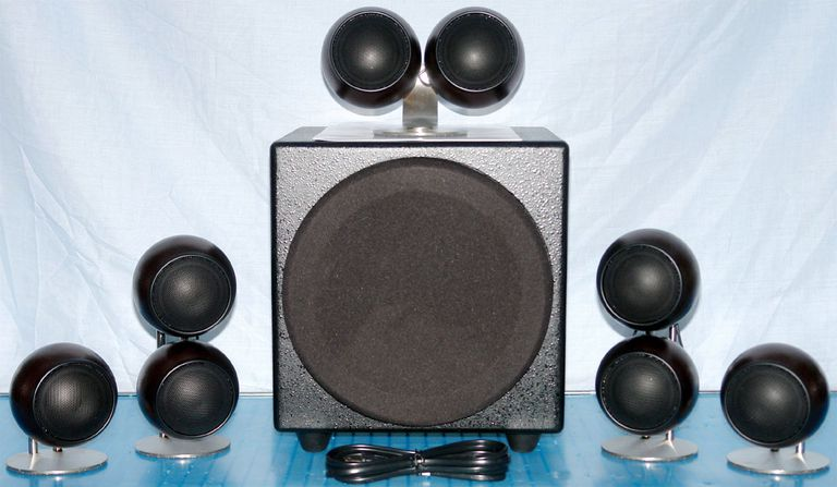 Orb Audio People's Choice 5.1 Channel Speaker System - Photo of Front View